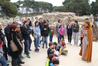 Empordà Caterva, visita romana, visita teatralitzada MAC-Empúries