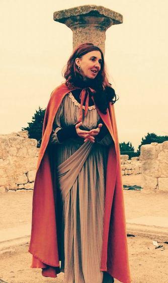 Empordà Caterva, visita teatralitzada, Julia Domitia, MAC Empúries